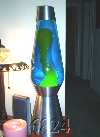 how to make a lava lamp with stuff at home